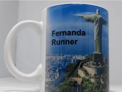 Caneca Fernanda Runner