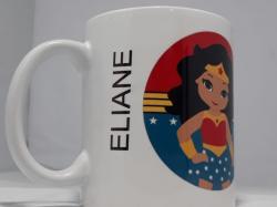 Caneca Eliane Mulher Maravilha