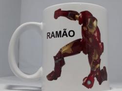 Caneca Ramão Homem de Ferro