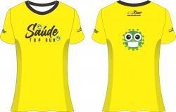 Camiseta evento teste Sorocaba - SAUDE TOP RUN