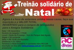 TREINAO SOLIDARIO DE NATAL