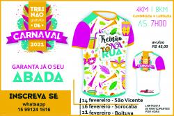 Abada Treinão Gratuito de carnaval