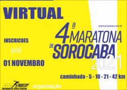 4º MARATONA SOROCABA  - VIRTUAL